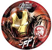 Iron Man bordjes