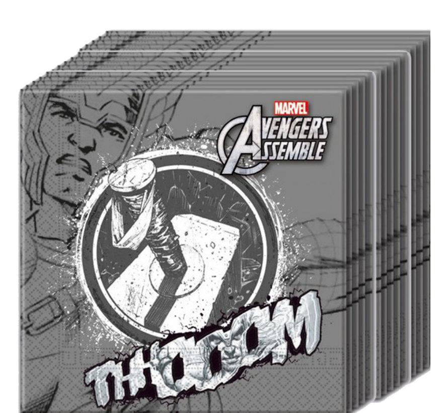 papieren Avengers Thor servetten