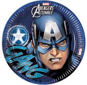 Captain America bordjes