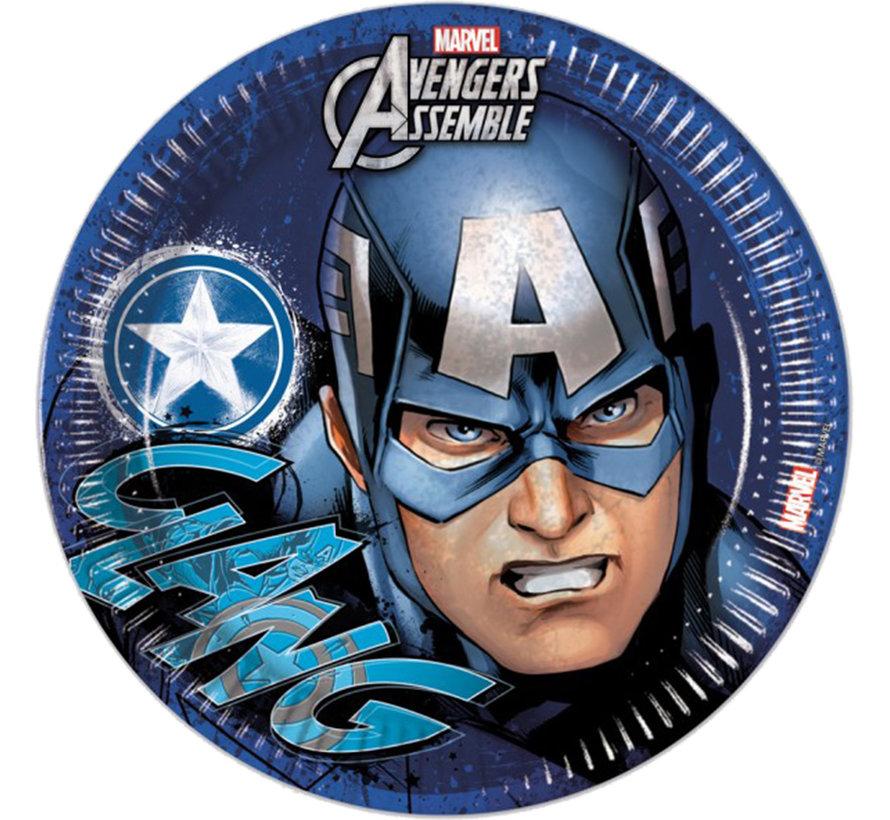 Avengers Captain America bordjes