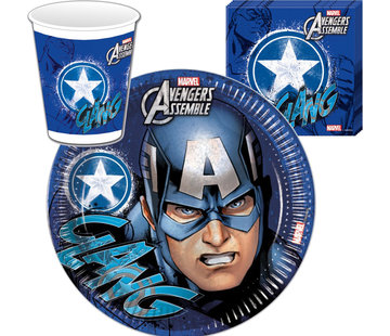 Captain America wegwerpservies
