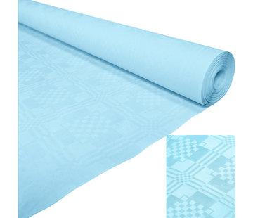 Lichtblauw papieren tafelkleed