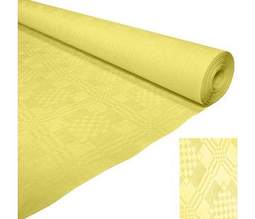 Papieren tafelkleed geel