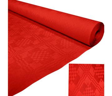 Papieren tafelkleed rood