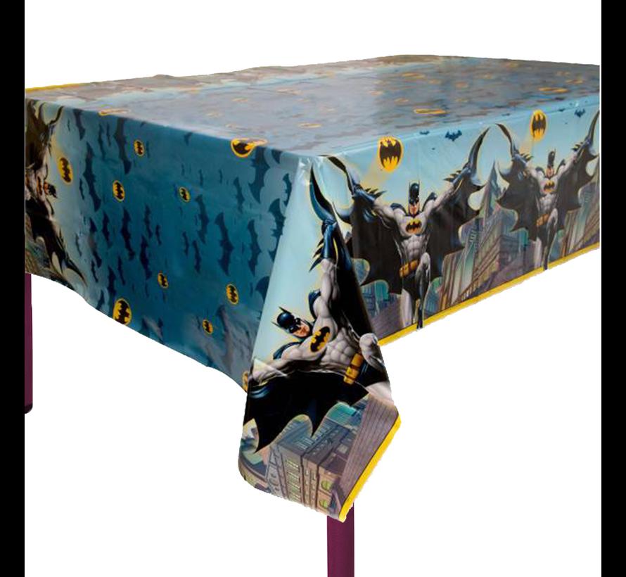 Plastic batman tafelkleed 1,30 x 2,10