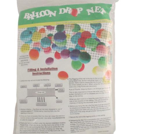ballonnen-dropping-via-net 1000 stuks