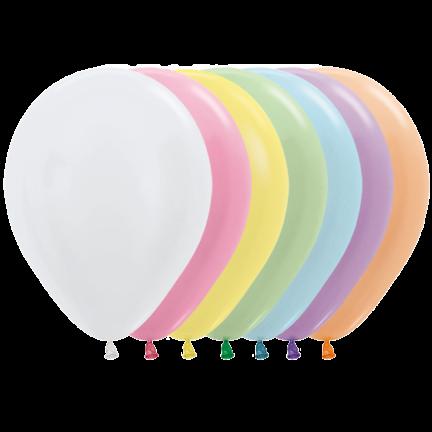 Pastel ballonnen bestellen in de mooiste kleuren