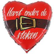 Rood hart onder de riem