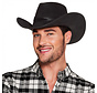 Luxe Zwarte Cowboyhoed Wyoming