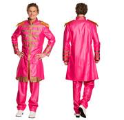 Sgt Pepper kostuum roze
