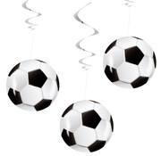 Voetbal Decoratie Swirls