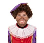 Zwarte Piet Musketier kraag