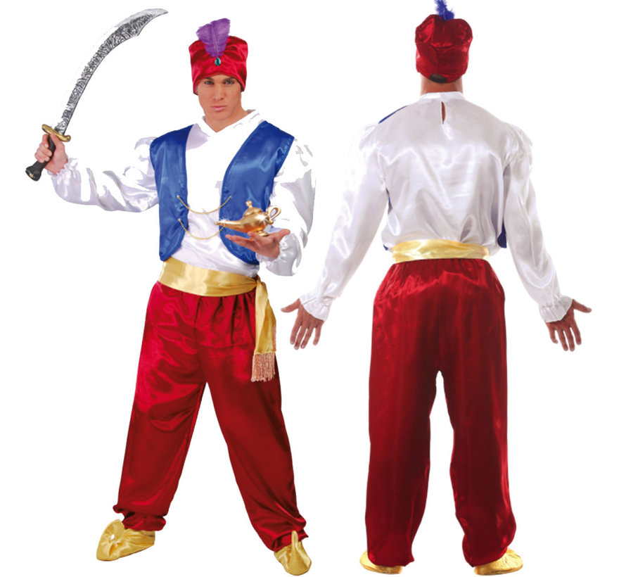 Aladdin 1001 nacht kostuum