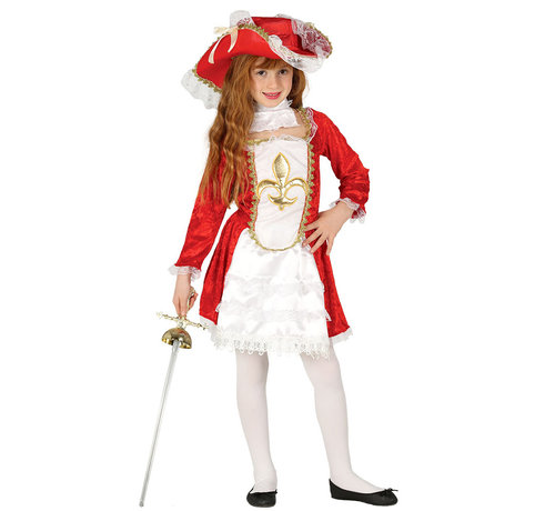 Stoer piratenpak kind meisje