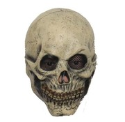 Hoofdmasker Skull with mesh eye sockets