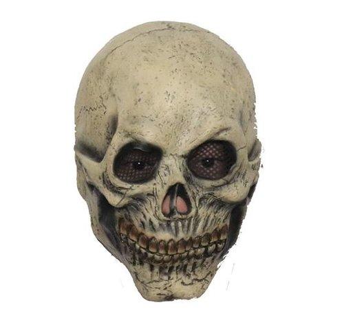 Hoofdmasker Skull with mesh eye sockets