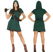 Sexy Robin Hood kostuum