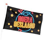 Hoera geslaagd banner
