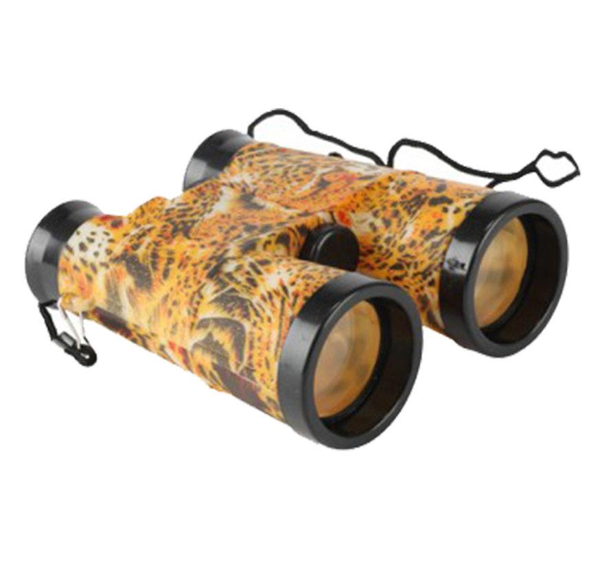 Speelgoed verrekijkers safari met tijgerprint