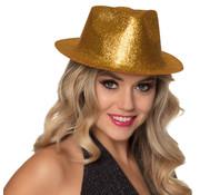 Gouden glitter hoedjes