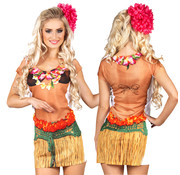 Hawaii jurkje Fotorealistisch shirt