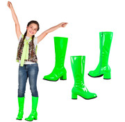 Groene hippie laarzen