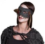 Halloween oogmasker rat