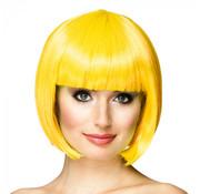 Bobline pruik geel