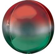 Orbz Ombré Rood/groen