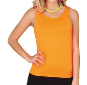 Neon shirt dames oranje