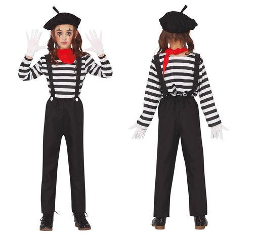 Mimespeler-outfit kind