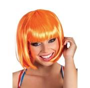Pruik oranje
