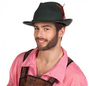 Donkergroene hoed Walter