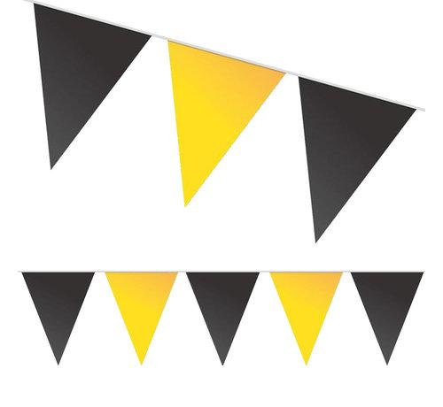 Zwart gele Batman vlaggenlijn kleuren