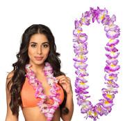 Paarse Hawaii krans