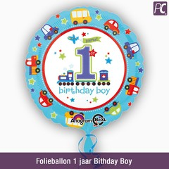 Folieballon 1 jaar Bithday Boy