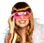 Dames neon bril pink