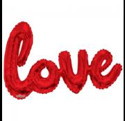 Rode love ballon