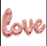 Letter love ballon