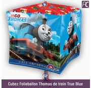 Cubez Folieballon Thomas de trein True Blue