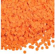 Oranje confetti 1kg