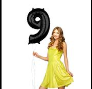 Zwarte Folie ballon 9