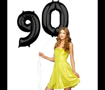 zwarte cijfers 90