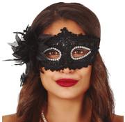 Goedkope sexy oogmasker zwart