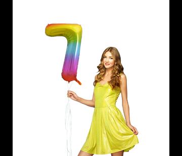 Cijfer ballon 7