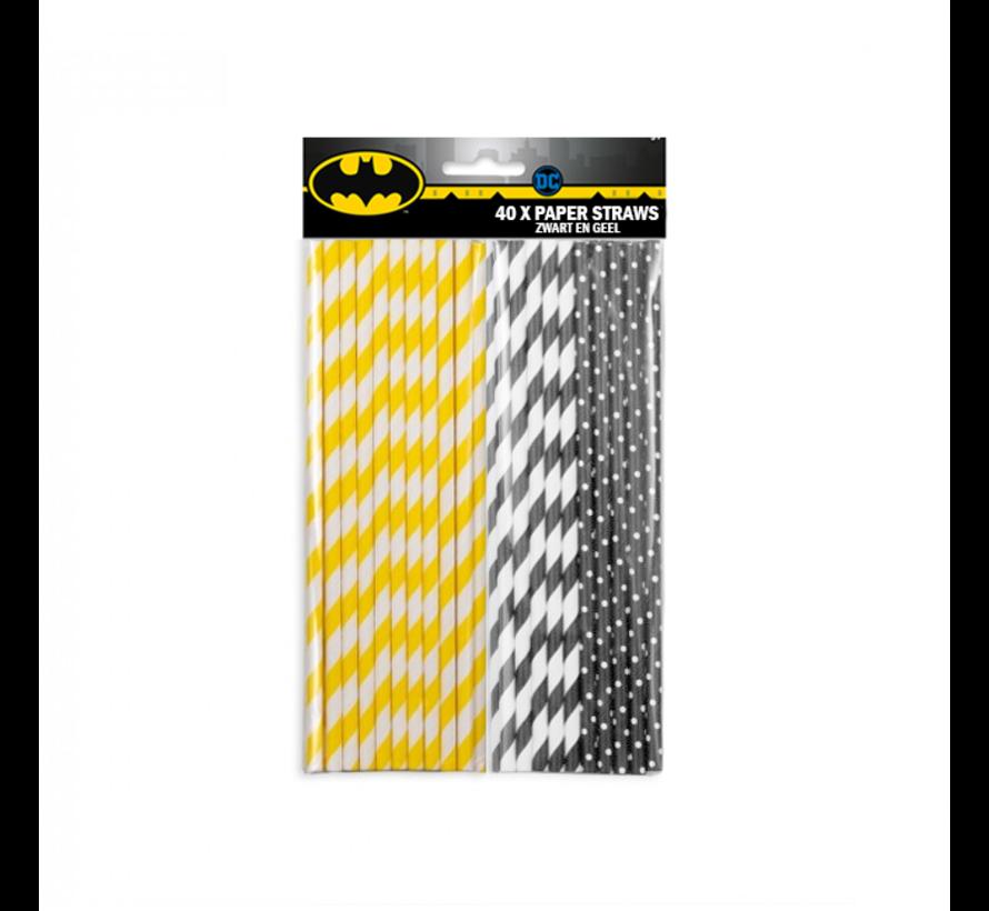 The Dark Knight batman papieren rietjes