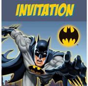 batman uitnodigingskaartjes