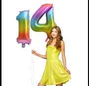 cijfer Ballon 14