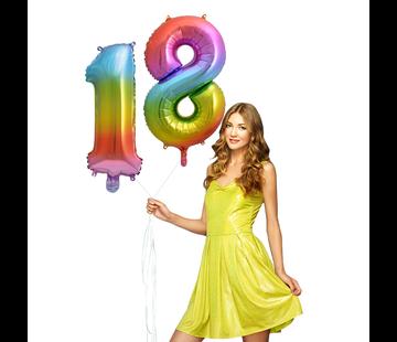 Cijfer Ballon 18