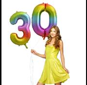 Cijfer ballon 30